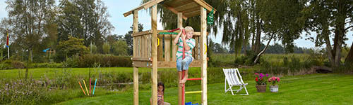 What Climbing Frame Suits My Small Garden?