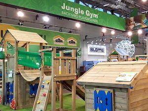 Jungle Gym at The Garden Trade Fair: Spoga Gafa 2016