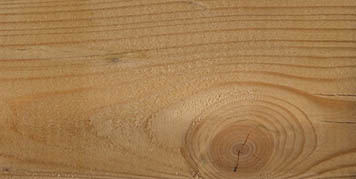Growth rings, knots and rays in timber